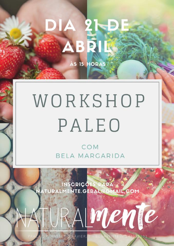 Workshop ao Meu Estilo Paleo, NaturalMente